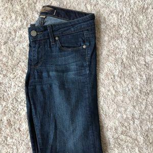 Paige Peg Skinny Jeans Sz 25